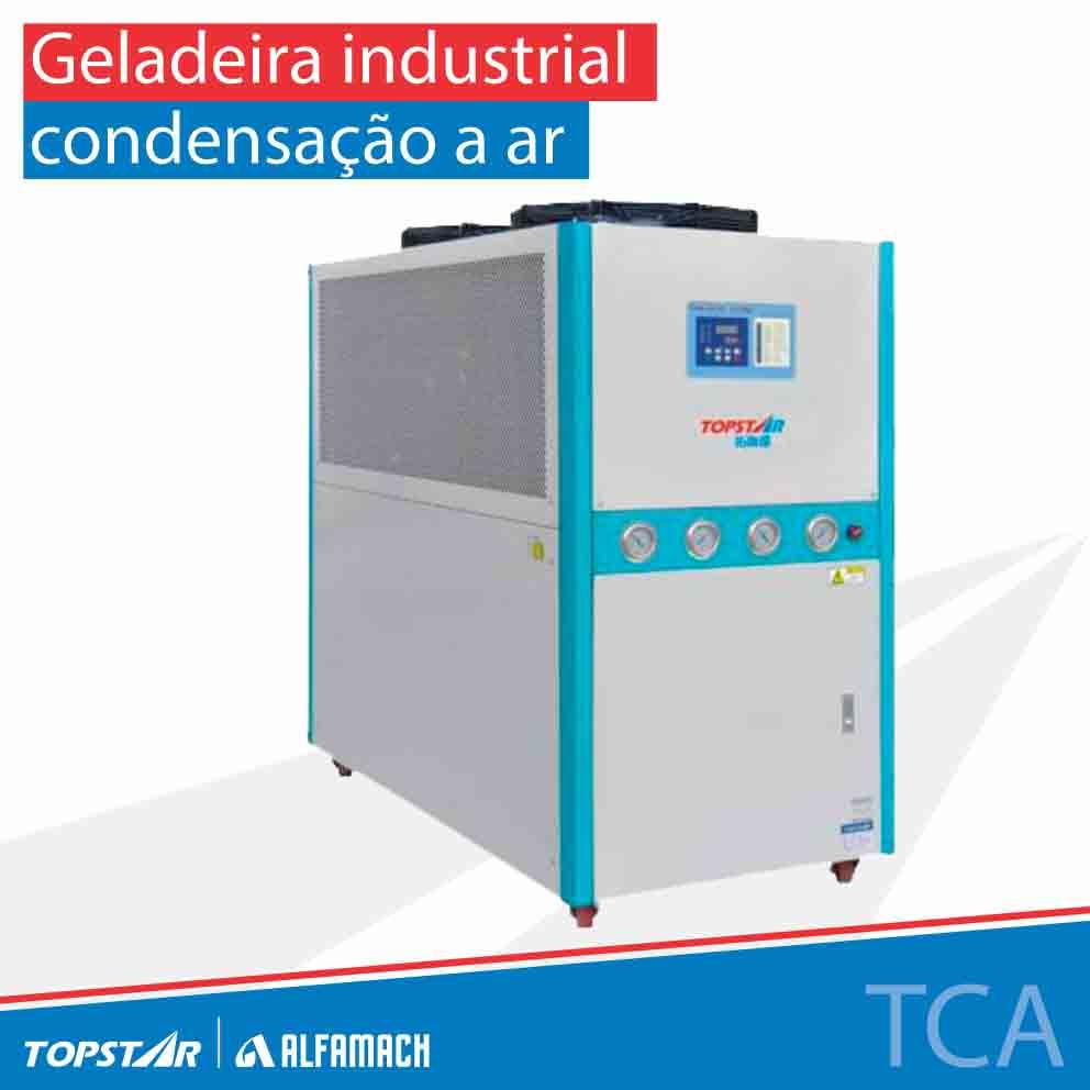 Geladeira industrial - Série TCA - Condensação a ar