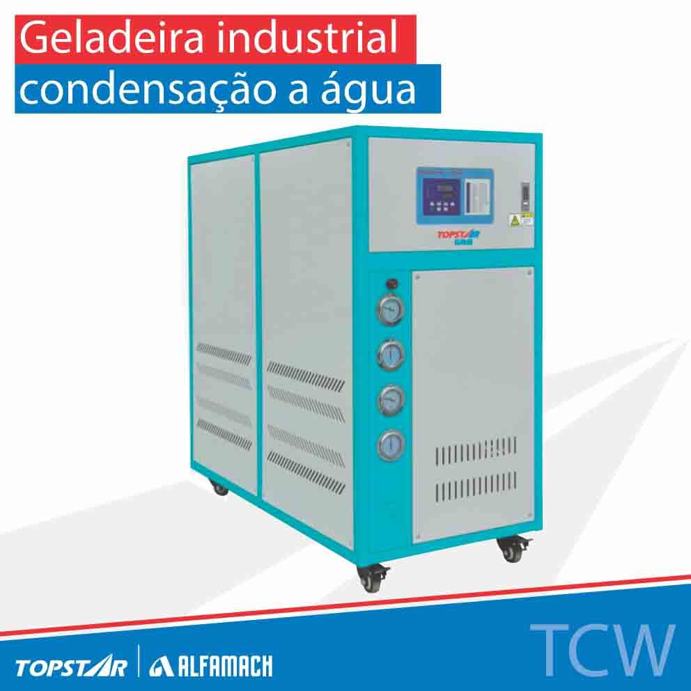 Geladeira industrial - Série TCW - Condensação a água
