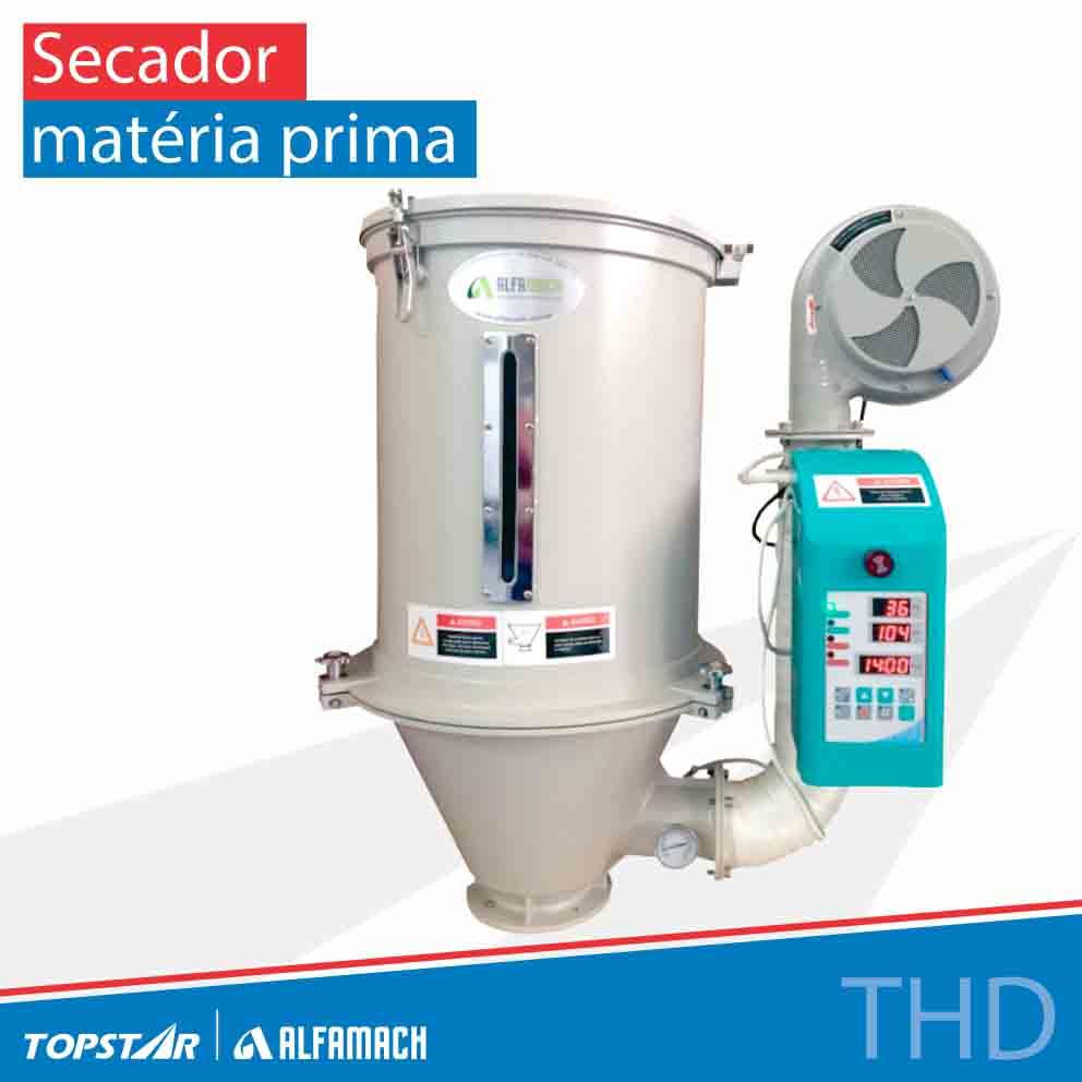Secador de matéria prima - Série THD